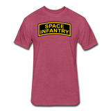 SPACE INFANTRY - heather burgundy