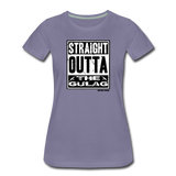 THE GULAG WOMENS - washed violet
