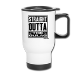 THE GULAG TRAVEL MUG - white