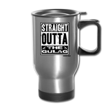 THE GULAG TRAVEL MUG - silver