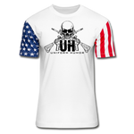 STARS & STRIPES LOGO - white