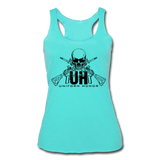 UNIFORM HUMOR CROSS RIFLES - turquoise