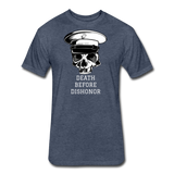 DEATH BEFORE DISHONOR - heather navy