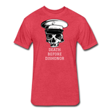 DEATH BEFORE DISHONOR - heather red