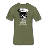 DEATH BEFORE DISHONOR - heather military green