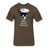 DEATH BEFORE DISHONOR - heather espresso