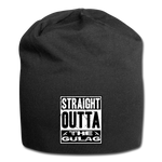 STRAIGHT OUTTA THE GULAG BEANIE - black