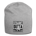 STRAIGHT OUTTA THE GULAG BEANIE - heather gray