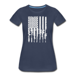 GUN FLAG WOMENS - navy