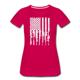 GUN FLAG WOMENS - dark pink