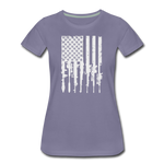 GUN FLAG WOMENS - washed violet