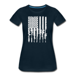 GUN FLAG WOMENS - deep navy