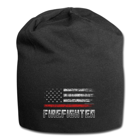 FIREFIGHTER BEANIE - black
