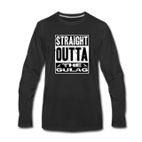 STRAIGHT OUTTA THE GULAG LONG SLEEVE - black