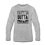 STRAIGHT OUTTA THE GULAG LONG SLEEVE - heather gray
