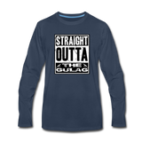 STRAIGHT OUTTA THE GULAG LONG SLEEVE - navy