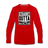 STRAIGHT OUTTA THE GULAG LONG SLEEVE - red