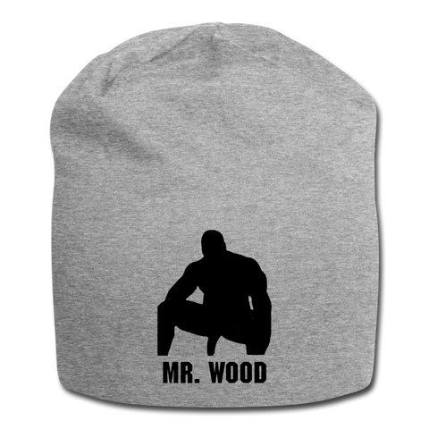 MR WOOD BEANIE - heather gray