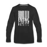 GUN FLAG LONG SLEEVE - black