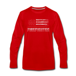 FIREFIGHTER LONG SLEEVE - red