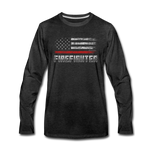 FIREFIGHTER LONG SLEEVE - charcoal gray