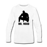 MR WOOD LONG SLEEVE - white