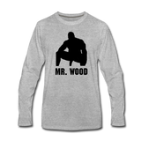 MR WOOD LONG SLEEVE - heather gray