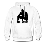 MR WOOD HOODIE - white