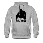 MR WOOD HOODIE - heather gray