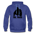 MR WOOD HOODIE - royalblue