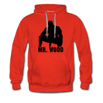 MR WOOD HOODIE - red