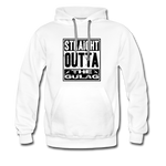 STRAIGHT OUTTA THE GULAG HOODIE - white