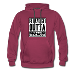 STRAIGHT OUTTA THE GULAG HOODIE - burgundy