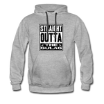STRAIGHT OUTTA THE GULAG HOODIE - heather gray
