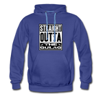 STRAIGHT OUTTA THE GULAG HOODIE - royalblue