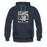STRAIGHT OUTTA THE GULAG HOODIE - navy