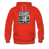 STRAIGHT OUTTA THE GULAG HOODIE - red