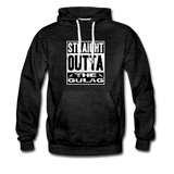 STRAIGHT OUTTA THE GULAG HOODIE - charcoal gray