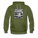 STRAIGHT OUTTA THE GULAG HOODIE - olive green