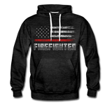 FIREFIGHTER HOODIE - charcoal gray