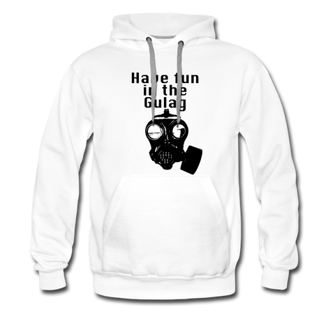 FUN IN THE GULAG HOODIE - white