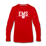 EMS LONG SLEEVE - red