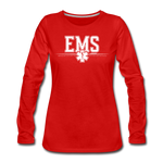 EMS WOMENS LONG SLEEVE - red