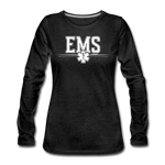 EMS WOMENS LONG SLEEVE - charcoal gray