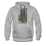 MOLON LABE SNAKE HOODIE - heather gray