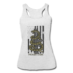 MOLON LABE SNAKE TANK - heather white