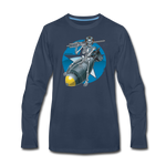 DEATH FROM ABOVE LONG SLEEVE - navy