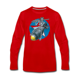 DEATH FROM ABOVE LONG SLEEVE - red
