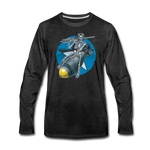 DEATH FROM ABOVE LONG SLEEVE - charcoal gray
