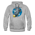 DEATH FROM ABOVE HOODIE - heather gray